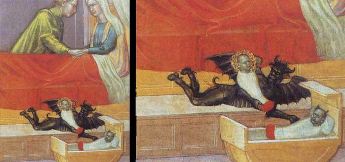 5 Terroríficas pinturas con niños implicados. ¡Qué miedo!