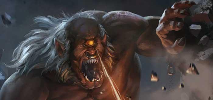 Balar, el rey de los demonios de la mitología celta
