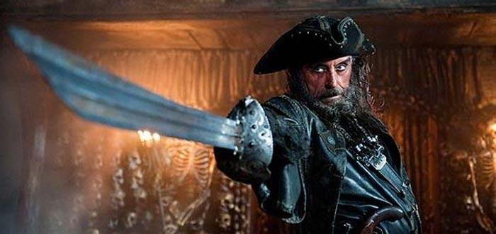 Barba Negra, Piratas del Caribe