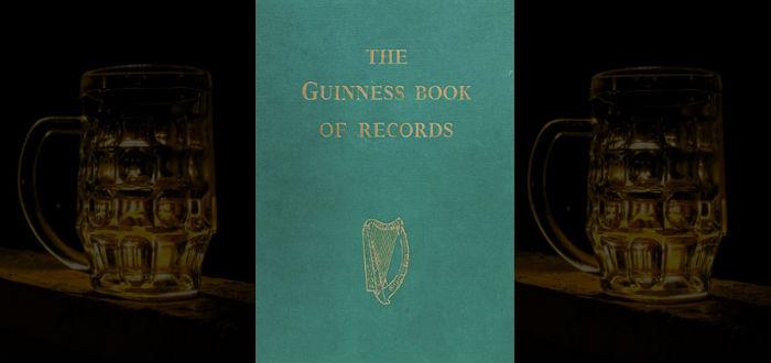 cerveza guiness, primer libro guiness de los récords