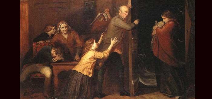 3 cuadros que explican tristes historias Victorianas