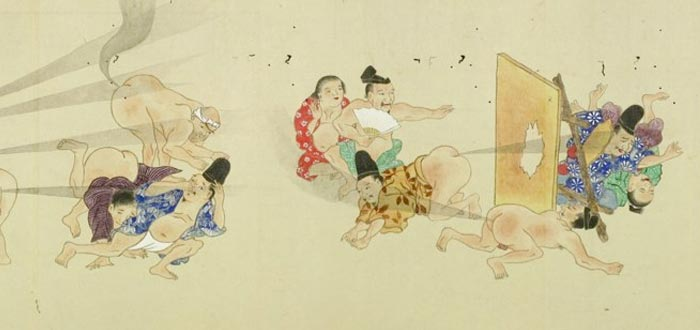 curiosidades graciosas, batalla de pedos Japón