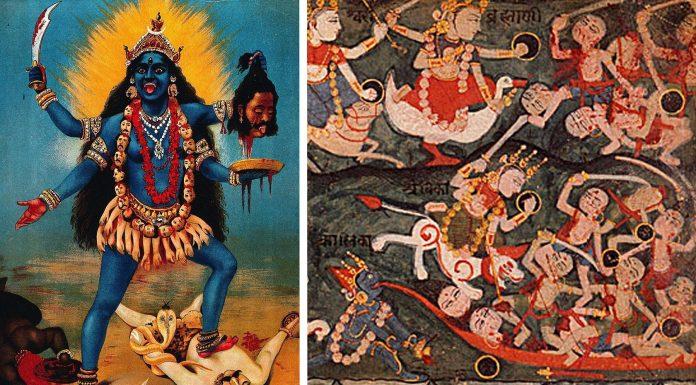5 historias MUY EXTRAÑAS de diosas hindúes