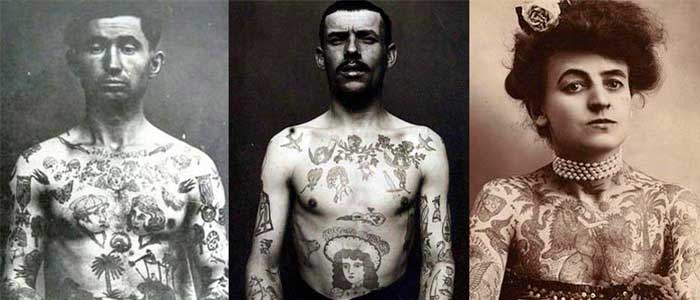 evolucion de los tatuajes