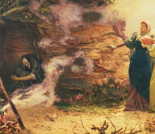 Imágenes de brujas en la historia