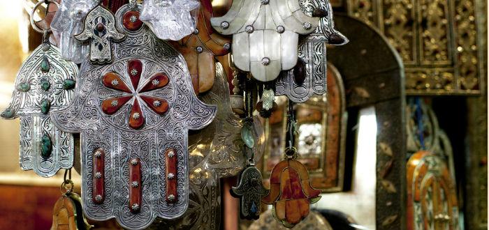 Amuleto de la mano de fátima