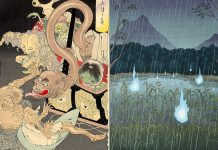 Onibi, los fantasmas de luz de las leyendas japonesas