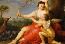 Cupido, o Eros según los griegos, era la deidad que hacía hechizos de amor.