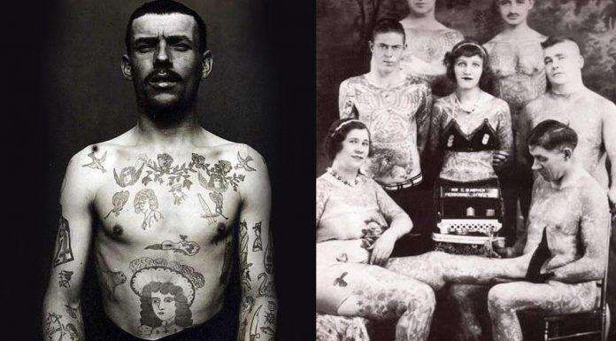 Los tatuajes en el siglo XIX y el siglo XX