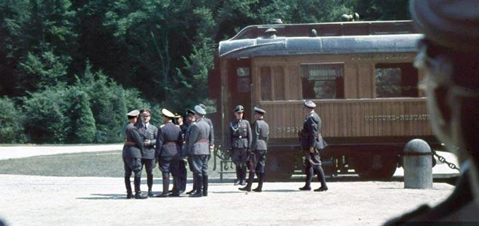 vagón del Orient Express, Hitler