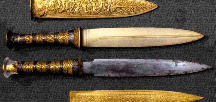 En la edad del bronce fabricaban armas con material c smico - Objetos fabricados con cobre ...