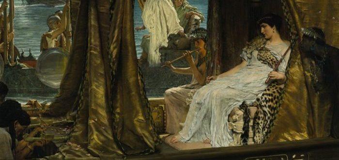 Algunas revueltas en Egipto fueron causadas por volcanes y Cleopatra encontró la solución