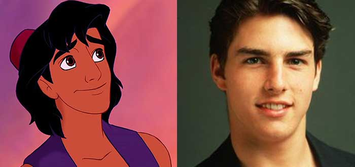 Curiosidades de películas - Aladdin Tom Cruise