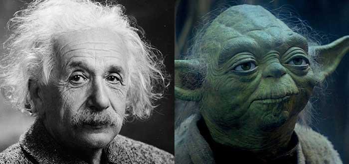 Curiosidades de películas - Star Wars Yoda Einstein