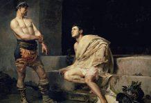 El asesinato del emperador romano Cómodo, que conociste en Gladiator