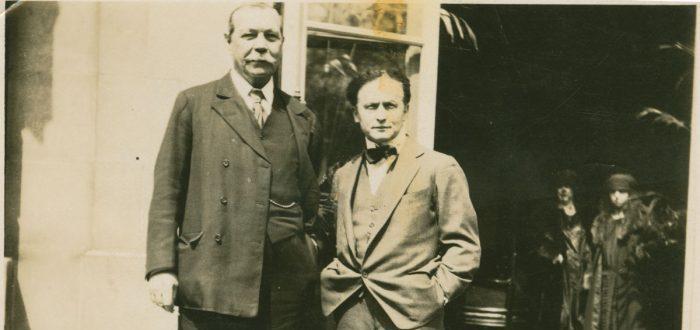 La inusual amistad entre Houdini y Sir Arthur Conan Doyle