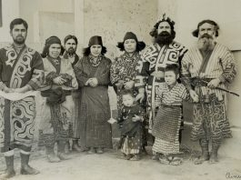 Los Ainu, habitantes originales de Japón