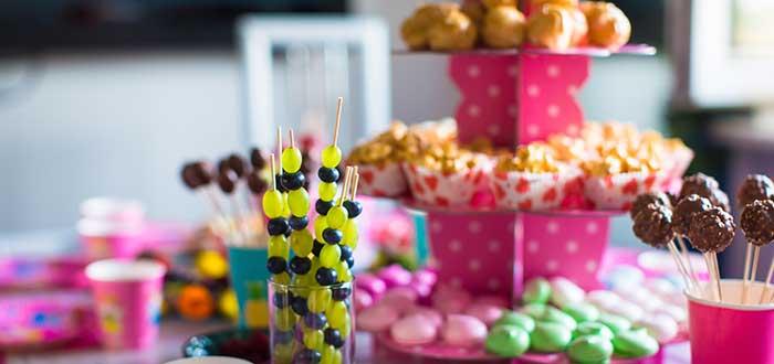 Mesas dulces festivas