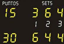 Puntuación en el tenis