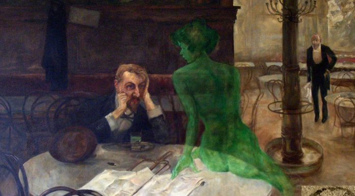 Absenta. ¿Qué sabes del licor del hada verde?