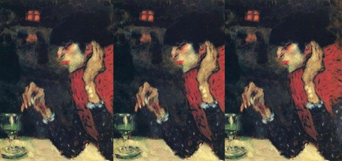 La bebedora de absenta, de Pablo Picasso