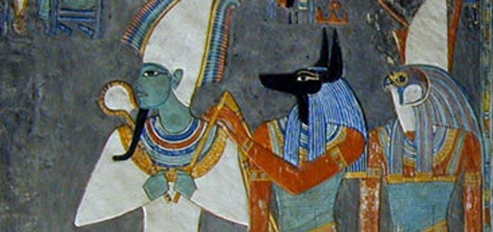 el Más Allá en el antiguo egipto, osiris, anubis, horus
