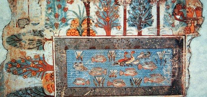 más allá en el antiguo egipto, paraíso