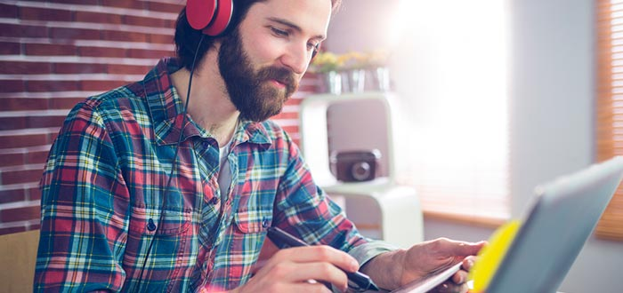 Música para estudiar y trabajar. ¿Qué escuchar para concentrarse?