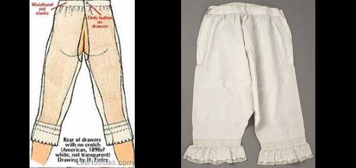 706d5fe98113 Ropa interior femenina | 4 curiosas prendas antiguas