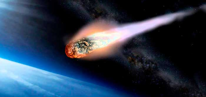 ¿Por qué los meteoritos explotan antes de llegar a la Tierra?