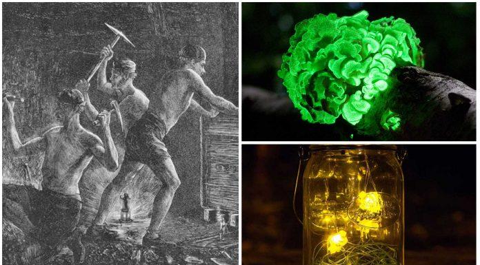2 ingeniosos inventos de los antiguos mineros para iluminarse