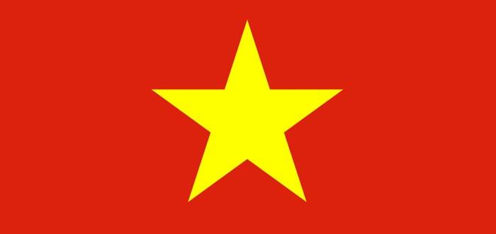 Curiosidades de países, bandera de Vietnam