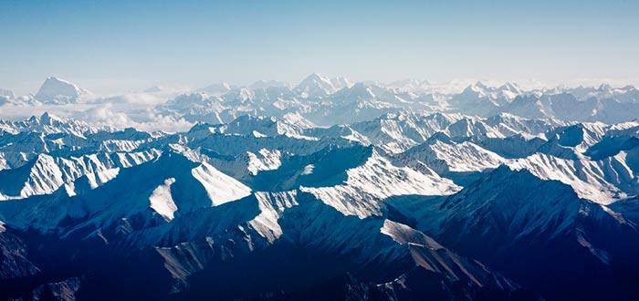 curiosidades de países, montañas del Himalaya