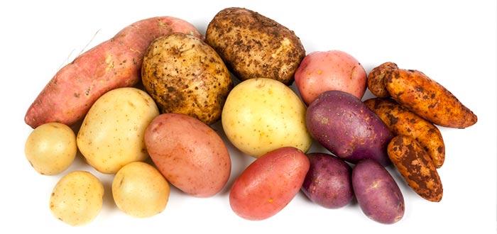 Curiosidades de países, tipos de patata, perú