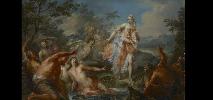 El dios Apolo. Casi tan venerado y temido como Zeus. ¿Sabes quién era?, madre de Apolo
