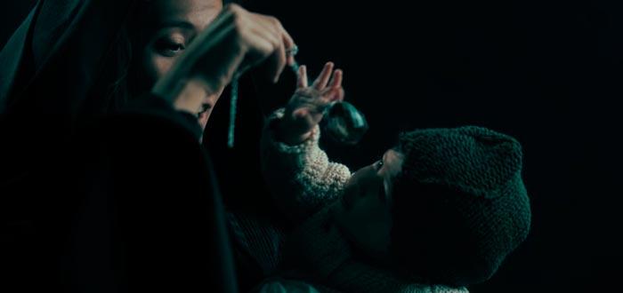merope gaunt, película de voldemort