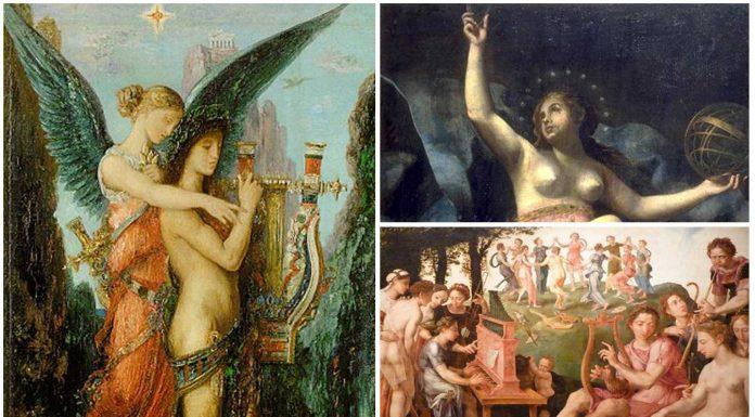 Las 9 musas de la mitología griega. ¿Las conoces?