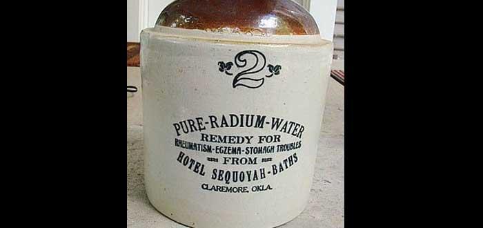¡Ropa interior radiactiva! Un invento del siglo XX