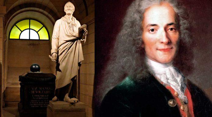 La estatua de Voltaire que... ¡contiene su corazón!