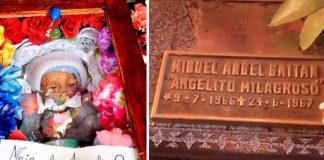 Miguel Ángel, el angelito milagroso cuyo cuerpo se mantiene intacto