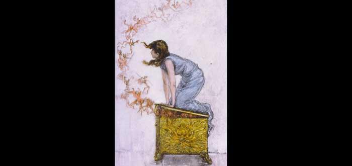 La verdad sobre la Caja de Pandora. El mito de Pandora, La caja de Pandora, Historia de Pandora