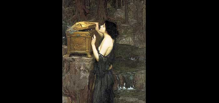 La verdad sobre la Caja de Pandora. El mito de Pandora, Historia de Pandora