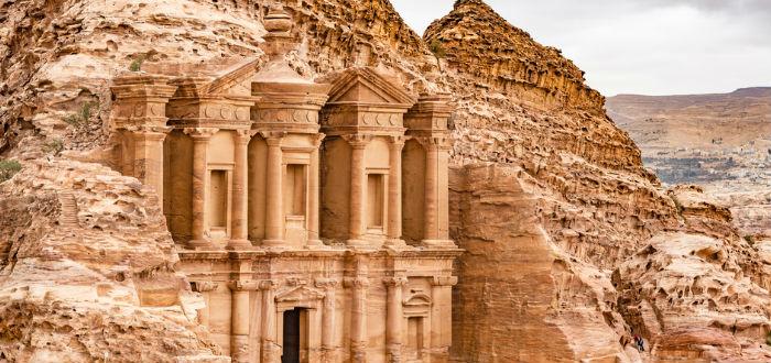 curiosidades de asia, jordania petra