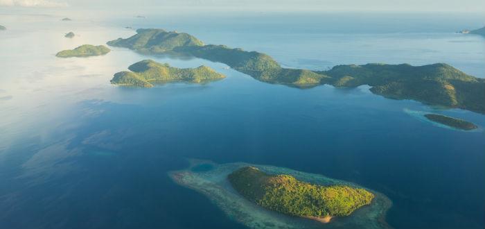 curiosidades de asia, vista aérea de filipinas