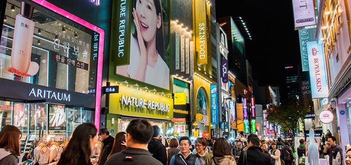 Curiosidades de Corea del Sur, compras de noche