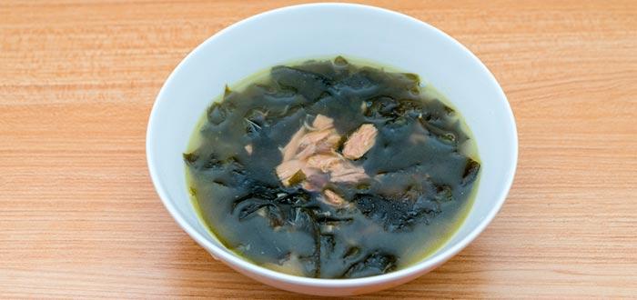 Curiosidades de Corea del Sur, sopa de algas marina
