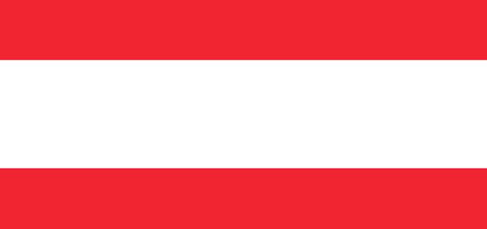 curiosidades de europa, curiosidades de Austria, bandera de Austria
