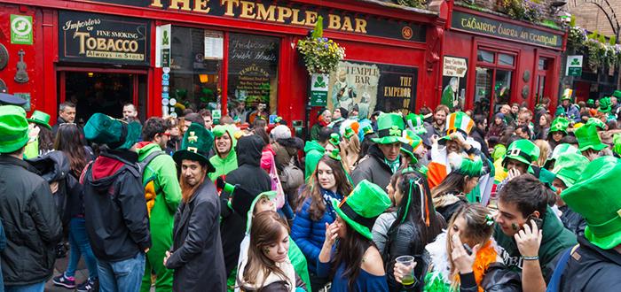 curiosidades de europa, curiosidades de Irlanda, Fiesta de San Patricio