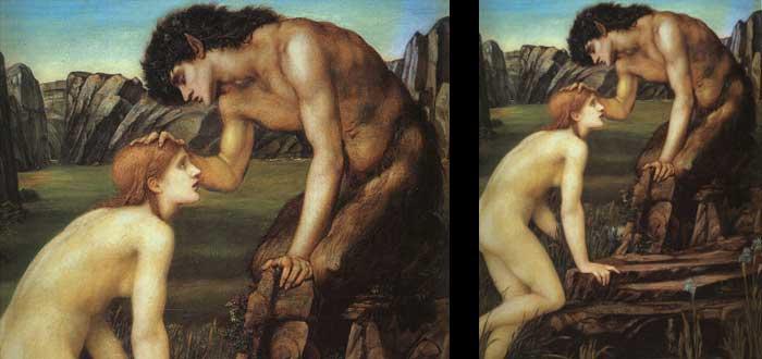 ¿Sabías que la imagen del diablo viene del dios Pan?, dios Pan