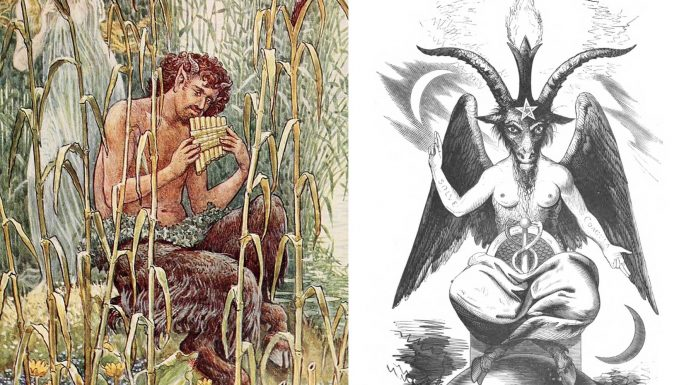 ¿Sabías que la imagen del diablo viene del dios Pan?